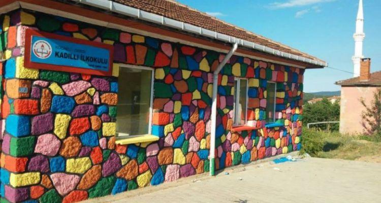 Köy Okulu Boyama Projesi