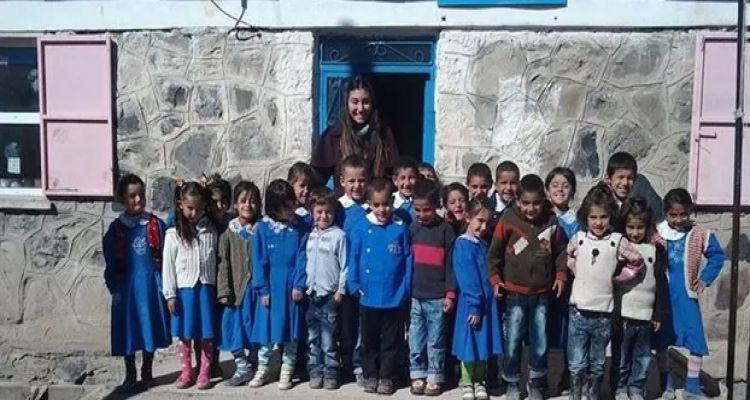 Köy okulları için yardım kampanyası